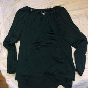 Jlo chain neck blouse